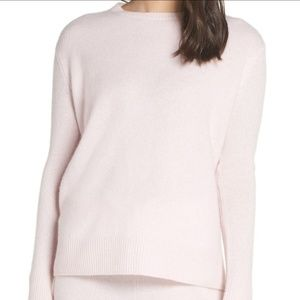 Something Navy 72% Cashmere Sweater